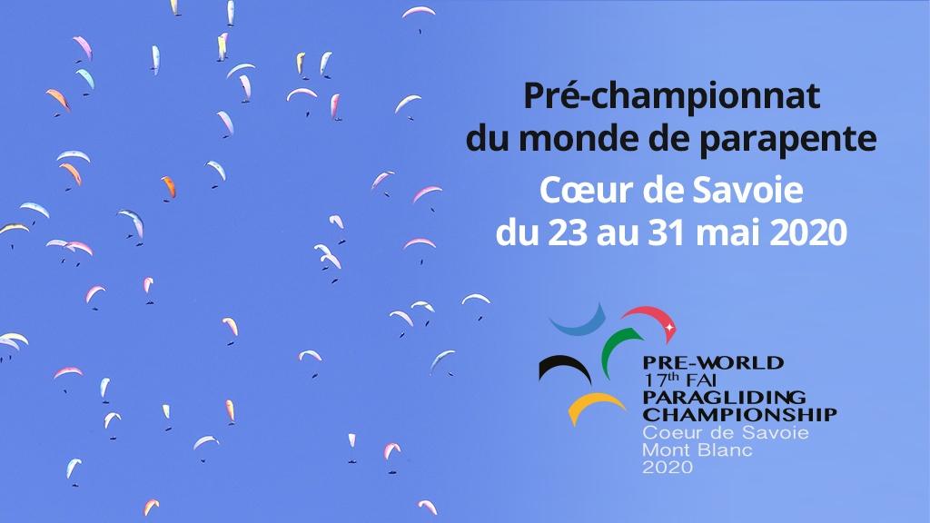 Paragliding Worldcup Championship Cœur de Savoie Mont-Blanc 2020-2021